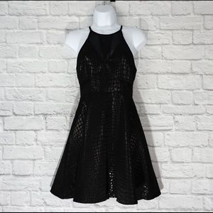 ASTR High neck skater dress size S EUC